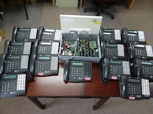 Vodavi 3500 01 Series Phone System With 15 Station Phones