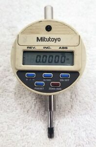 Mitutoyo Digimatic Indicator 543 111 Model Idc 1012e Excellent Working Shape