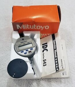 Mitutoyo Digimatic Indicator 543 135 Model Idc 1012me W box And Manual