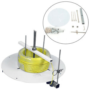 Adjustable Portable Electrical Cable Cord Spool Reel Dispenser Stand Roller Tool