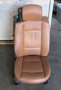Right Passenger Side Convertible Seat Heated Electric Oem Bmw E93 Saddle Brown