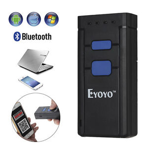 Eyoyo Portable 1d Btooth Wireless Barcode Scanner For Windows Android Ios G