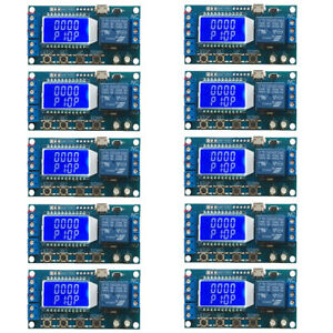 10pcs 6 30v Mini Usb Relay Module Delay Trigger Cycle Timer Circuit Lcd Switch