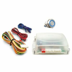One Touch Engine Start Kit Blue Illuminated Button Front Suspension Parts