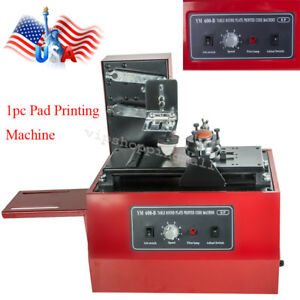 Electric Pad Printer Printing Machine T shirt Inkprint Pvc Mug Ballpen Durable