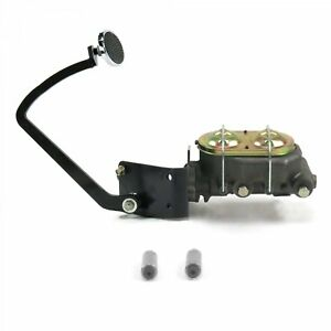 33 34 Ford Manual Brake Pedal Kit Drum drum lg Oval Chr Pad Parts Front