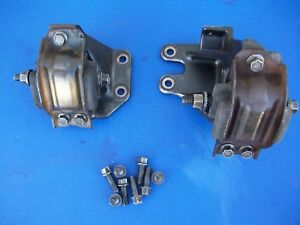 2003 2005 Dodge Ram 5 9 Cummins Turbo Diesel Motor Stands W Mounts And Bolts