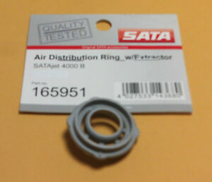 Sata Jet 165951 Air Distribution Ring For 4000b Gray