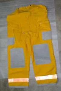 Globe Firefighter Bunker Turnout Pants 38x30 Vintage 1990 Nwot Nomex Iii Fire