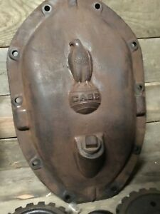 Industrial Steampunk Iron Lamp Man Cave Case Tractor 1920 1930s