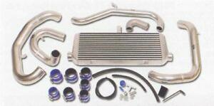 Greddy 93 95 Mazda Rx 7 Intercooler Kit V Mount Fd3s I C Only W Suction Pipe Sp