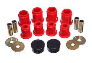 Energy Suspension For 1996 2002 Toyota 4runner Front Control Arm Bushings red