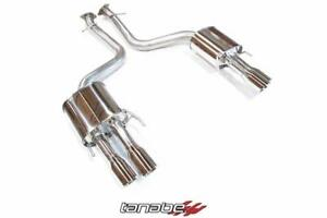 Tanabe Medallion Touring Axleback Exhaust Dual Muffler Quad Tips 16 17 Lexus Gs