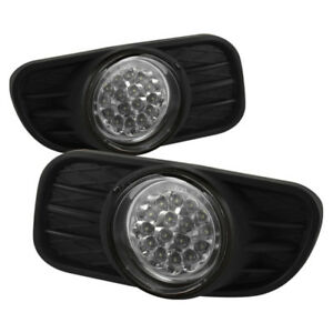 Spyder For Jeep Grand Cherokee 99 04 Led Fog Lights W Switch Clear Fl Led Jgc99