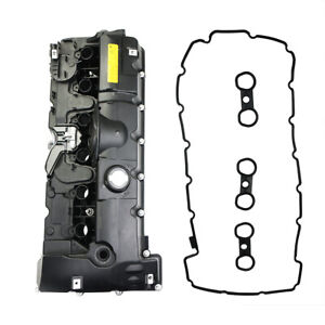 Engine Valve Cover W Gasket For Bmw E60 E61 E82 E90 325 330 2 5l 3 0l I6 N52