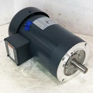 Marathon 3 Hp 3600 Rpm Tefc 230 460 Volts 145tc Footless 3 Phase Motor K2042