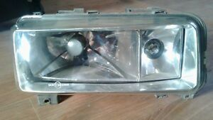 Audi 80 90 B2 Clear Polycarbonate Covers Headlight For Retrofit Pair 4mm