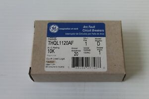 Ge Combination Arc Fault Circuit Breaker Thql1120af Model D