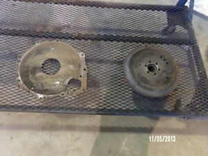 3 Cylinder Diesel Ford Engine Flywheel shuttle Shift Trans an Engine Plate