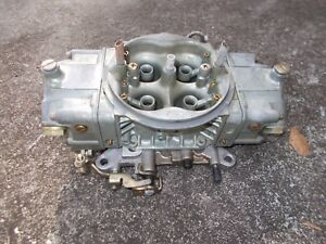 Holley 4150 Hp 750 Cfm Race Carburetor New Condition