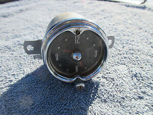 1952 1953 1954 Mercury Dash Clock