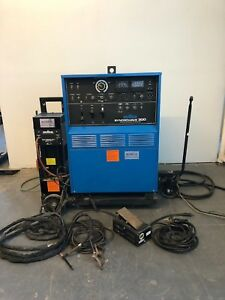 Miller Syncrowave 300 Welder Watermate Cooling System Weldcraft Tig Torch