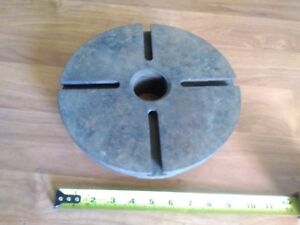 Vintage 10 lathe Faceplate Face Dog Plate W864