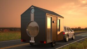 Tiny Home Tiny House Tiny Shop On Wheels Travel Trailer mobile Studio office