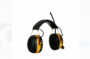 Worktunes Digital Hearing Protector With Am fm Radio Noise Reduction Protection