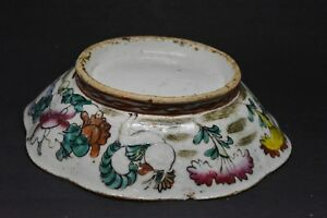 Antique Chinese Late 1800 S Porcelain Bowl 7 Inches Wide