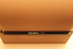 Vintage Rolodex Double Card File Model 2400 Light Brown Taupe