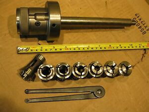 Marquart 140e 3 16 Collet Chuck Tool Holder Lathe Turning Cnc Mill Drill