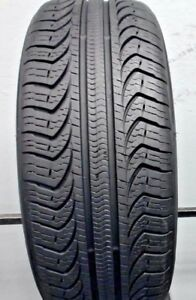 One Used 215 55r17 2155517 Pirelli P4 Four Season 10 32 J98