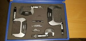 Fowler Outside Micrometer Set 0 100mm Fow72 229 220