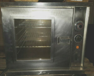 Jasons Stainless Steel Single Electric Half Size 1 2 Commercial Convection Oven