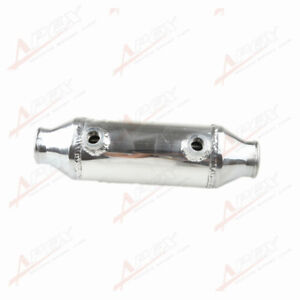Water To Air Intercooler 2 25 Air Inlet Outlet 4 Od X 8 Length Barrel Style