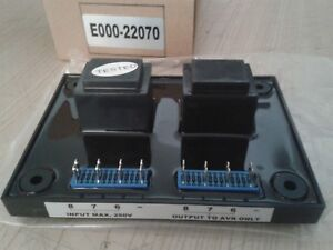 Pcb Isolation Transformer E000 22070 Input 220 250v Generator Alternator Avr
