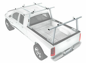 Heavy Duty 800lb Pickup Truck Bed Ladder Racks Utility W cantilever Extension