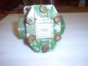 Hydraulic Oil Pressure Pump Fits Yanmar Ym2610 Ym2610d With Drive