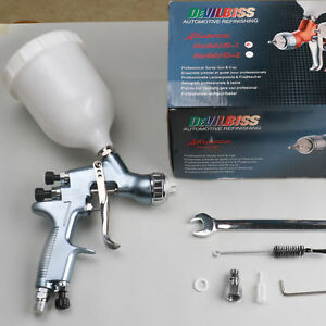 Hd01 Hvlp Air Paint Spray Gun Kit Auto Paint Car Primer Detail Base Coat Repair