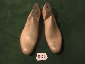 Vintage 1942 Pair Us Navy Shoe Lasts Size 9 1 2 D Factory Industrial Mold D 66