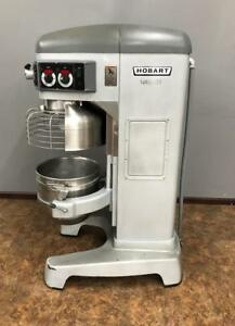 Hobart Legacy 60 Quart Hl600 3 Ph Commercial Floor Mixer Bowl Guard 3 Phase