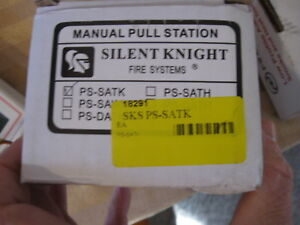New Silent Knight Fire Systems Alarm Manual Pull Station Ps satk