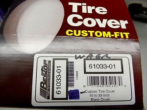 Bestop Spare Tire Cover black Crush Fits 32 33 Tire Universal Application77848