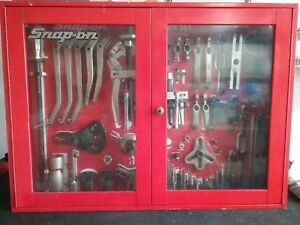 Snap on Cj2000 Master Puller Set W Control Board Wall Cabinet extras 43o