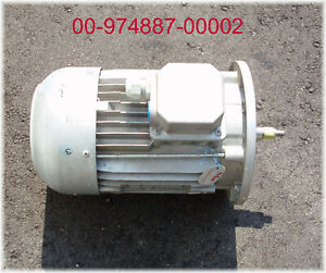 Hobart Ft 1000 Dishwasher New 3 Phase Pump Motor 3 9 Hp 3470 Rpm look