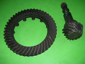 96 Dodge Ram Dana Spicer 70 Rear Differential Gears 3 55 3 54 Ratio Ring Pinion