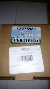 Opw Fsa 400 Evr Face Seal Adapter ebw Red Jacket Fe Petro Morrison Wayne