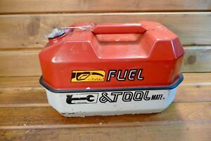 Metal Blitz Fuel Tool Gas Can Chainsaw Tool Box Usmc 1 1 2 Gallon
