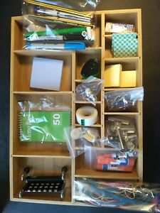 Office Supplies Package W wooden Divider